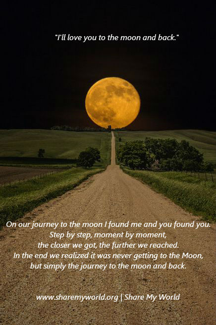 To the Moon and Back.